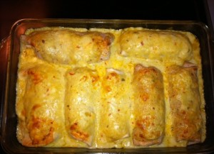 "The ""Evil Enchiladas"" , of which we will never speak again."